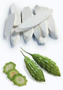 Frutos chinos llenos de prebióticos