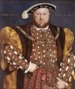 Hans Holbein - Portrait of Henry VIII