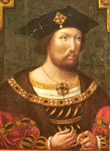 Joven Enrique VIII 1520